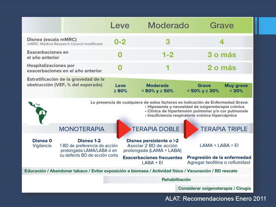 ALAT: Recomendaciones Enero 2011