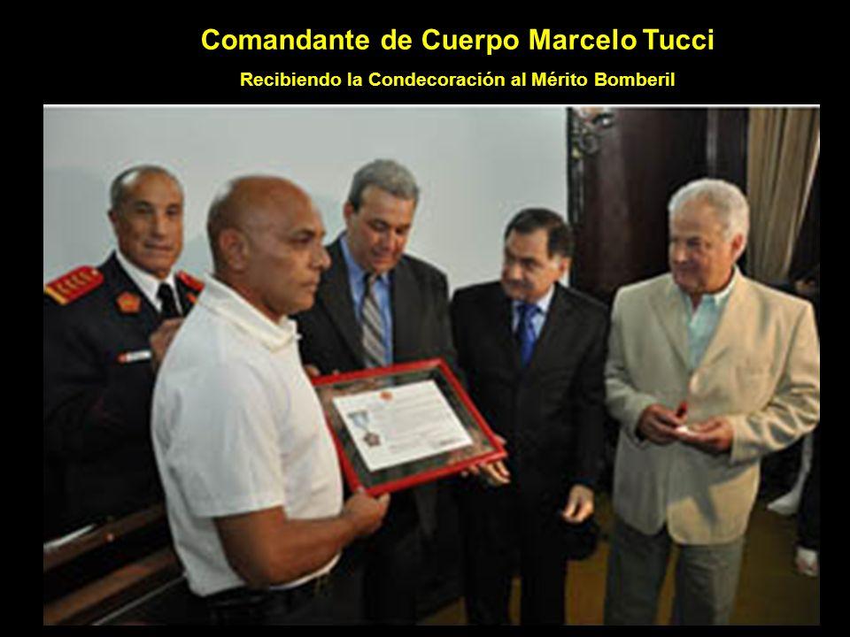 Comandante de Cuerpo Marcelo Tucci