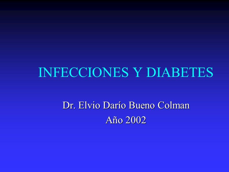 INFECCIONES Y DIABETES