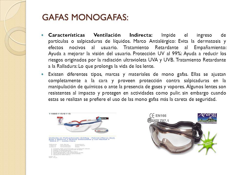 GAFAS MONOGAFAS: