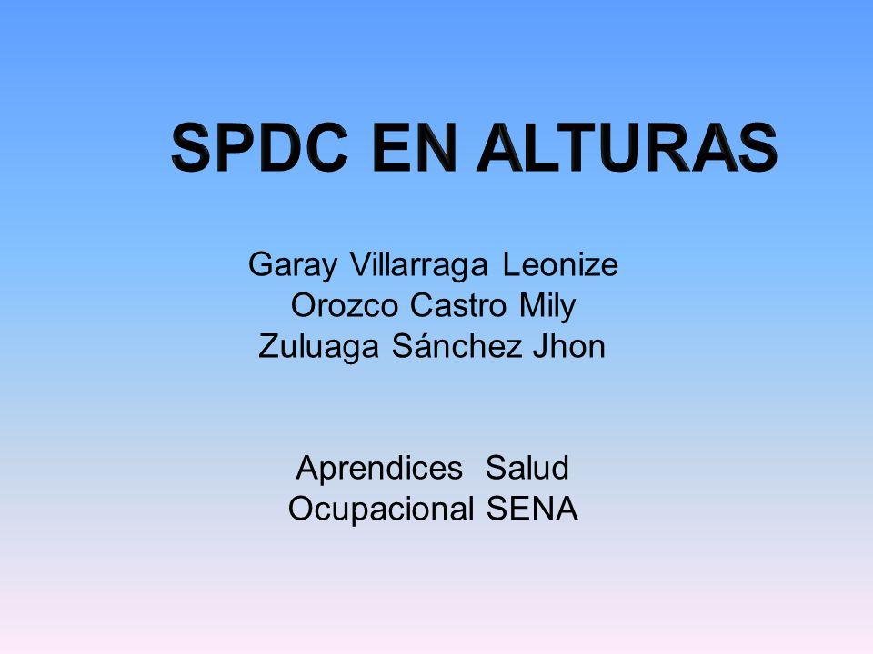 SPDC EN ALTURAS Garay Villarraga Leonize Orozco Castro Mily