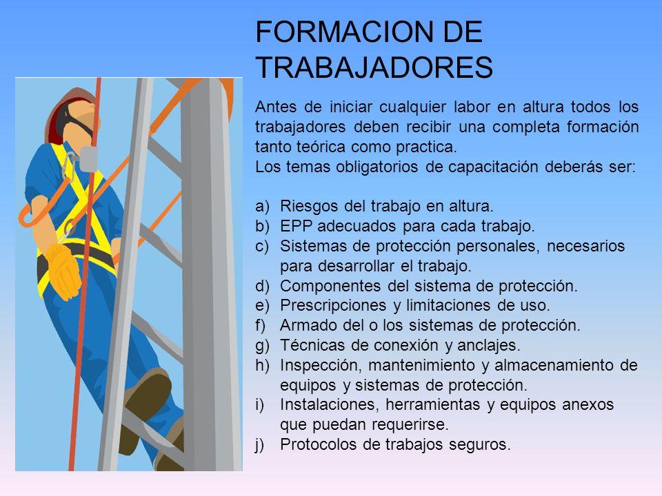 FORMACION DE TRABAJADORES