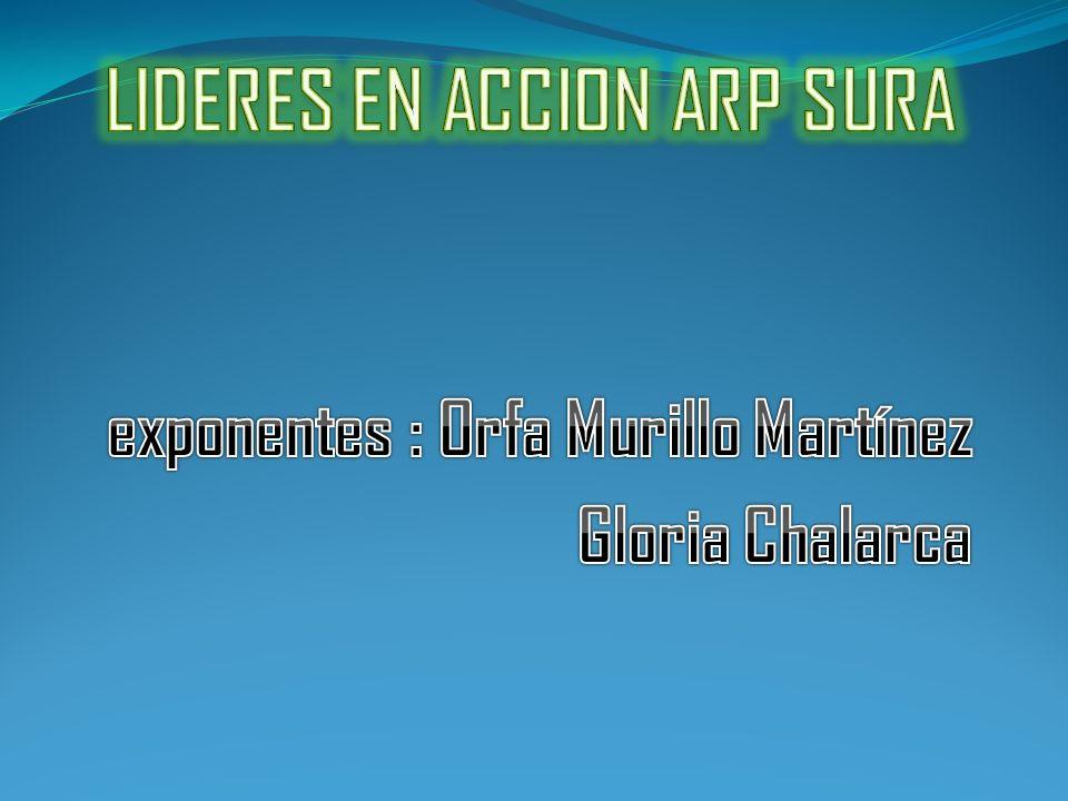 LIDERES EN ACCION ARP SURA