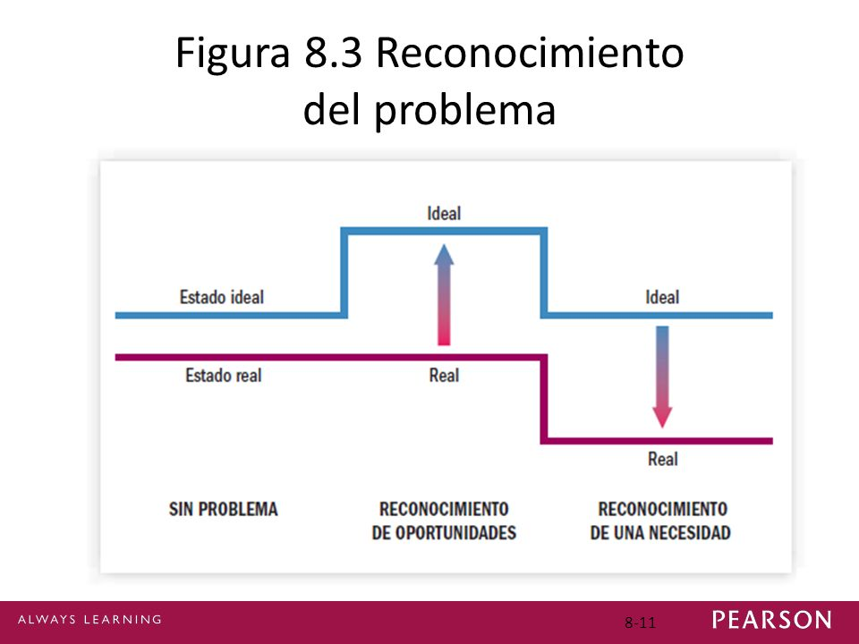 Figura 8.3 Reconocimiento del problema