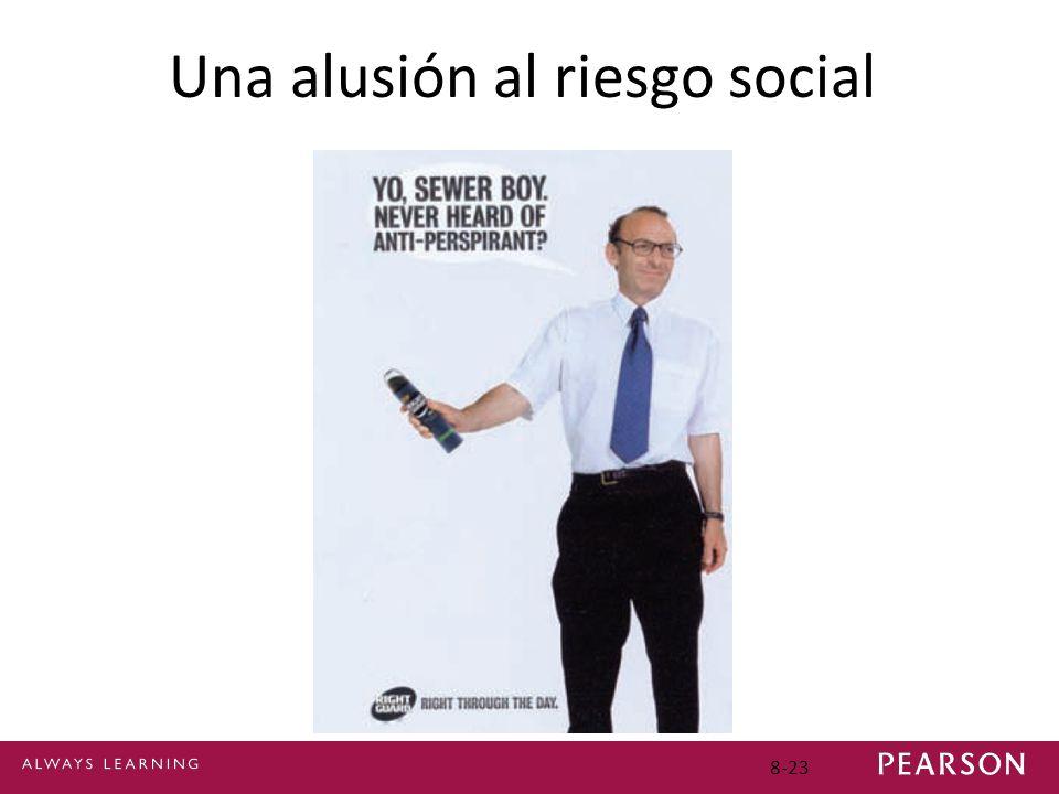 Una alusión al riesgo social