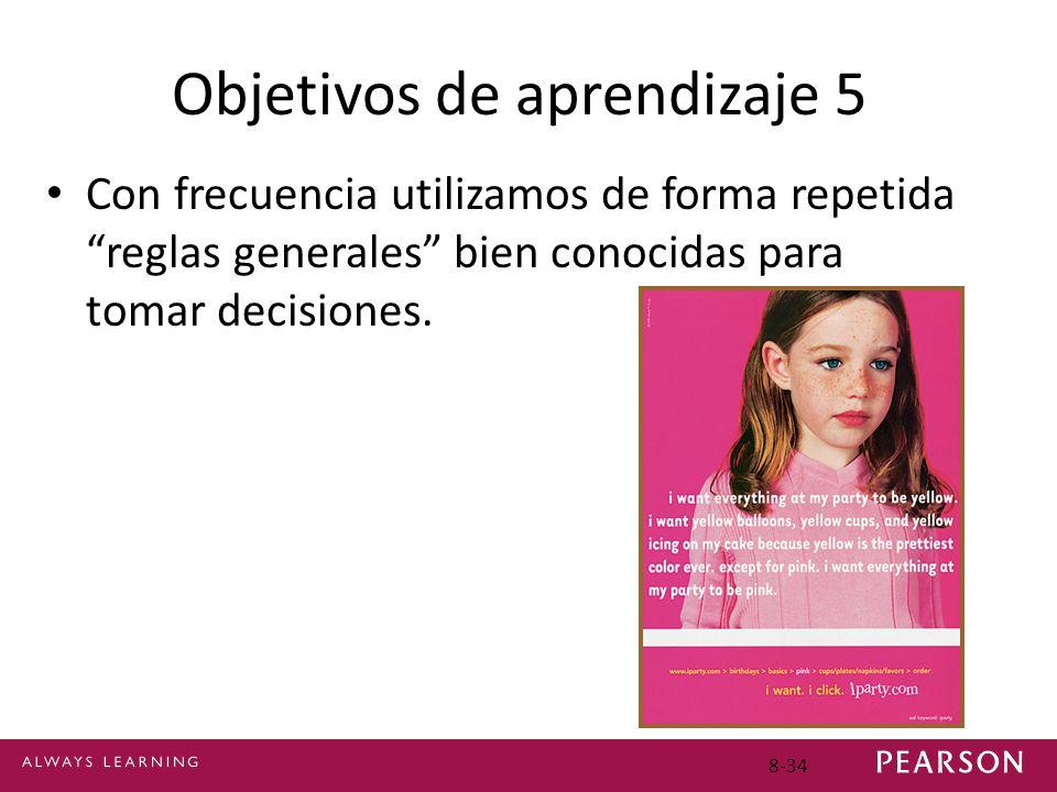 Objetivos de aprendizaje 5