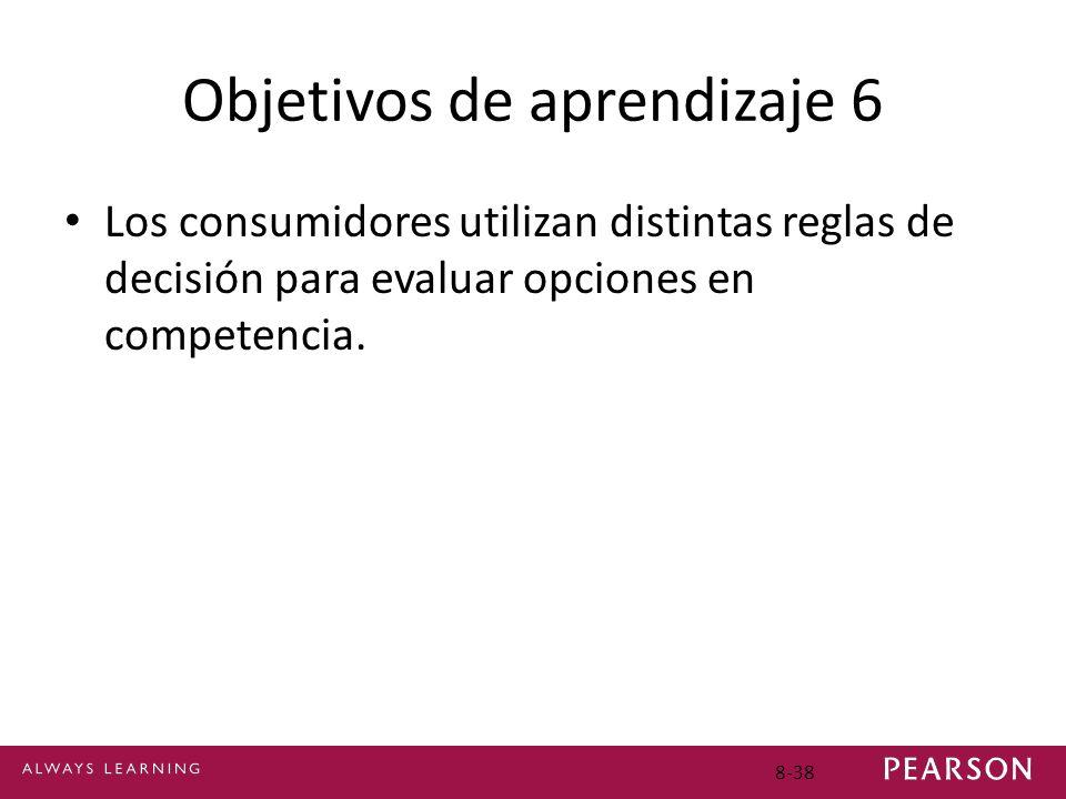 Objetivos de aprendizaje 6