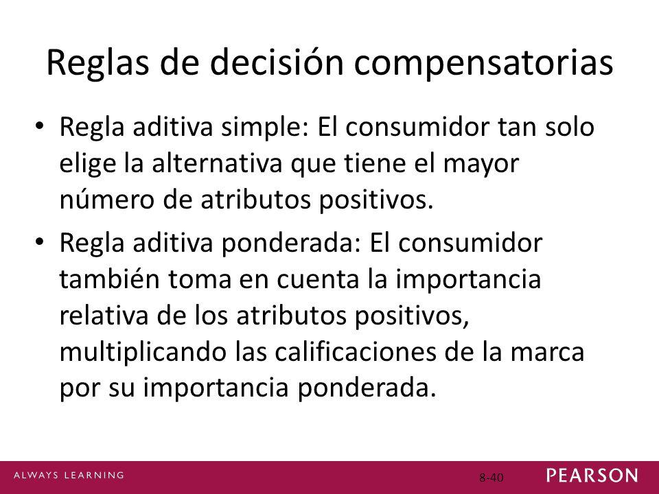 Reglas de decisión compensatorias