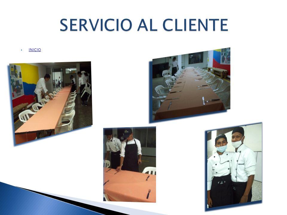 SERVICIO AL CLIENTE INICIO