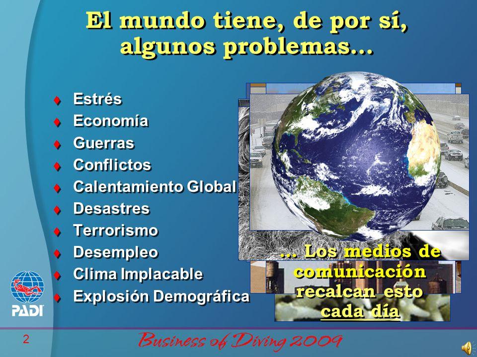 El mundo tiene, de por sí, algunos problemas…