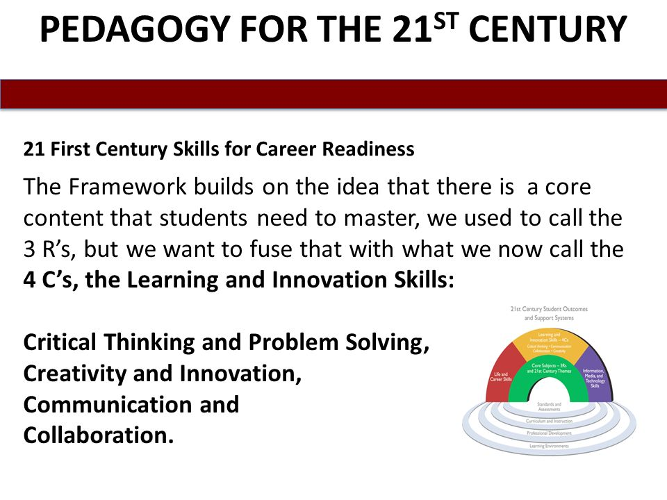 PEDAGOGY FOR THE 21ST CENTURY