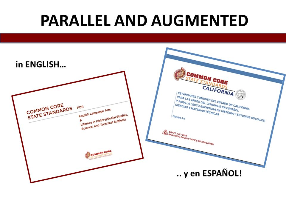 PARALLEL AND AUGMENTED