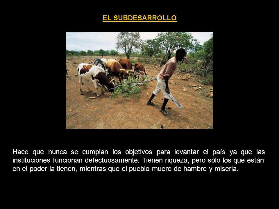 EL SUBDESARROLLO