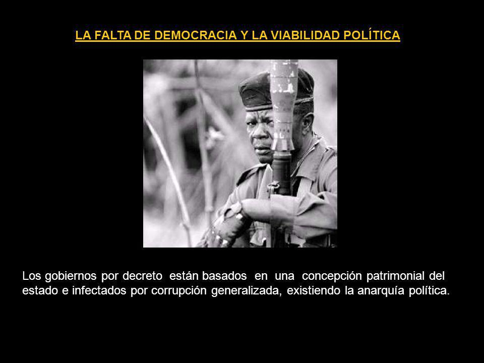 LA FALTA DE DEMOCRACIA Y LA VIABILIDAD POLÍTICA