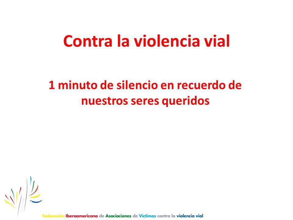 Contra la violencia vial