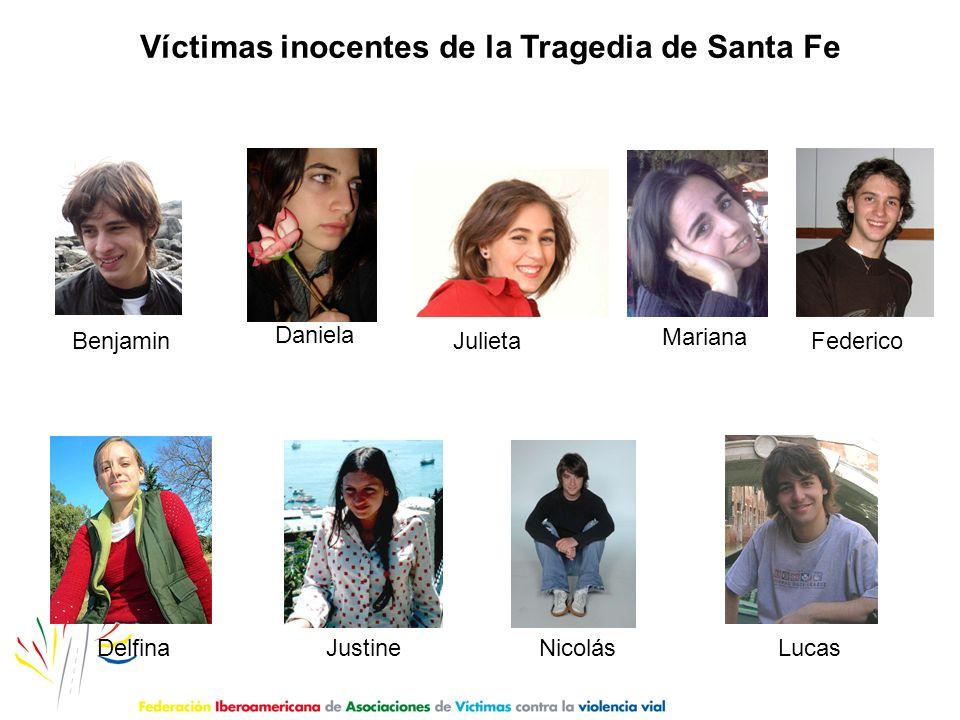 Víctimas inocentes de la Tragedia de Santa Fe