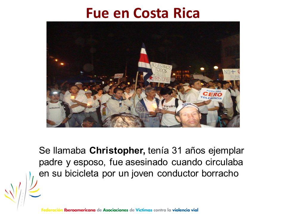 Fue en Costa Rica