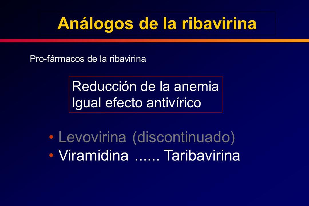 Análogos de la ribavirina