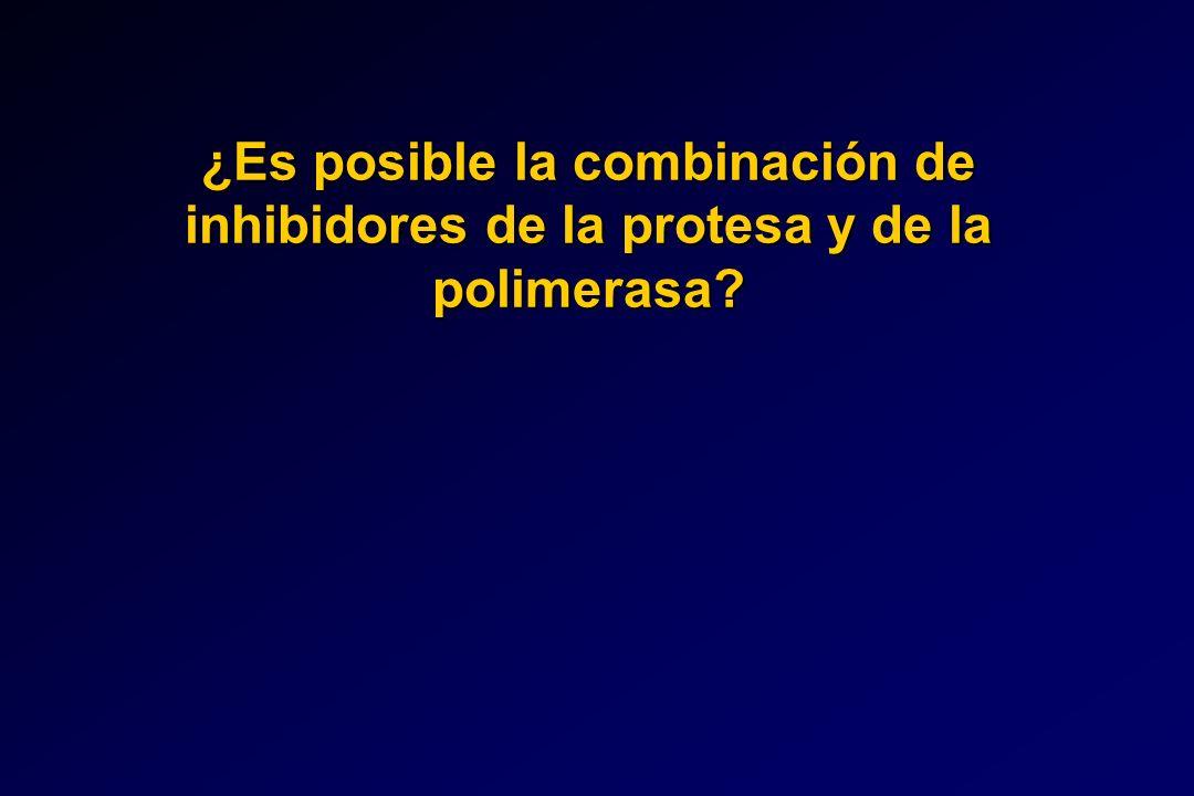 ¿Es posible la combinación de inhibidores de la protesa y de la polimerasa