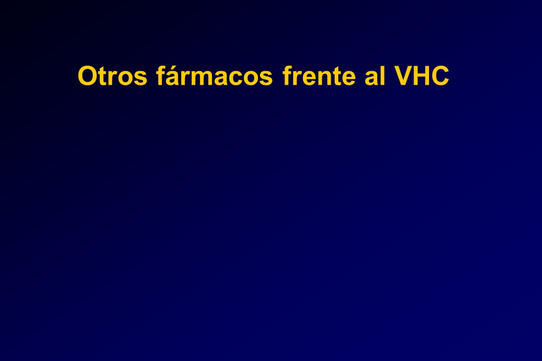 Otros fármacos frente al VHC