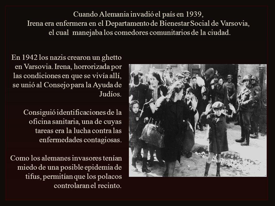 Cuando Alemania invadió el país en 1939,