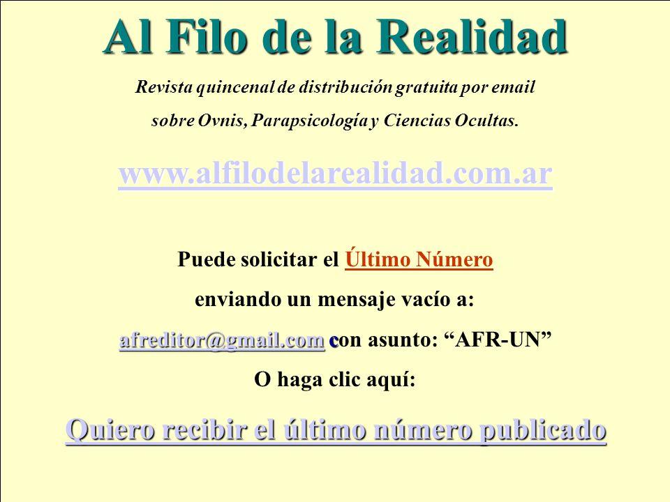 Al Filo de la Realidad www.alfilodelarealidad.com.ar