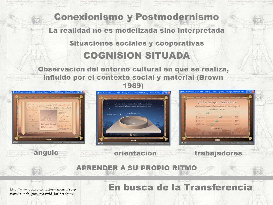 Conexionismo y Postmodernismo