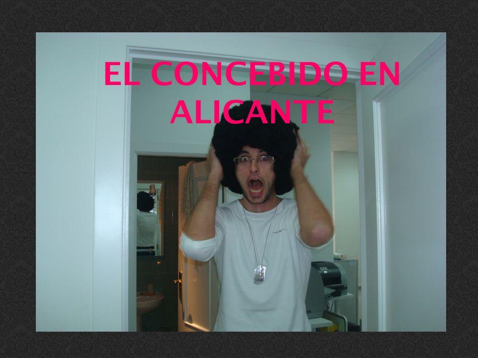 EL CONCEBIDO EN ALICANTE