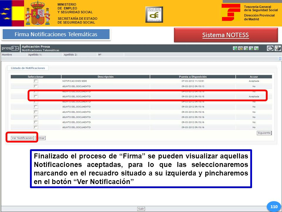 Firma Notificaciones Telemáticas