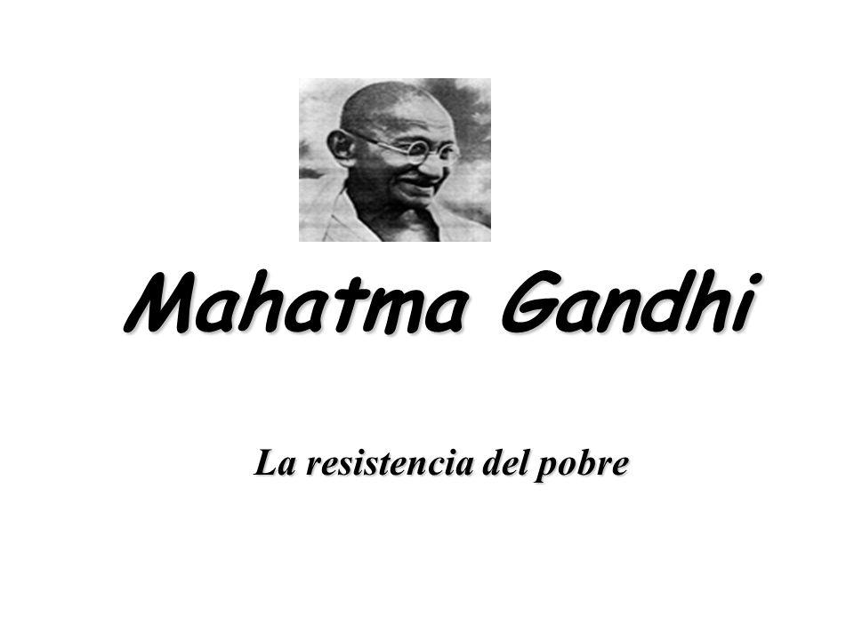 La resistencia del pobre