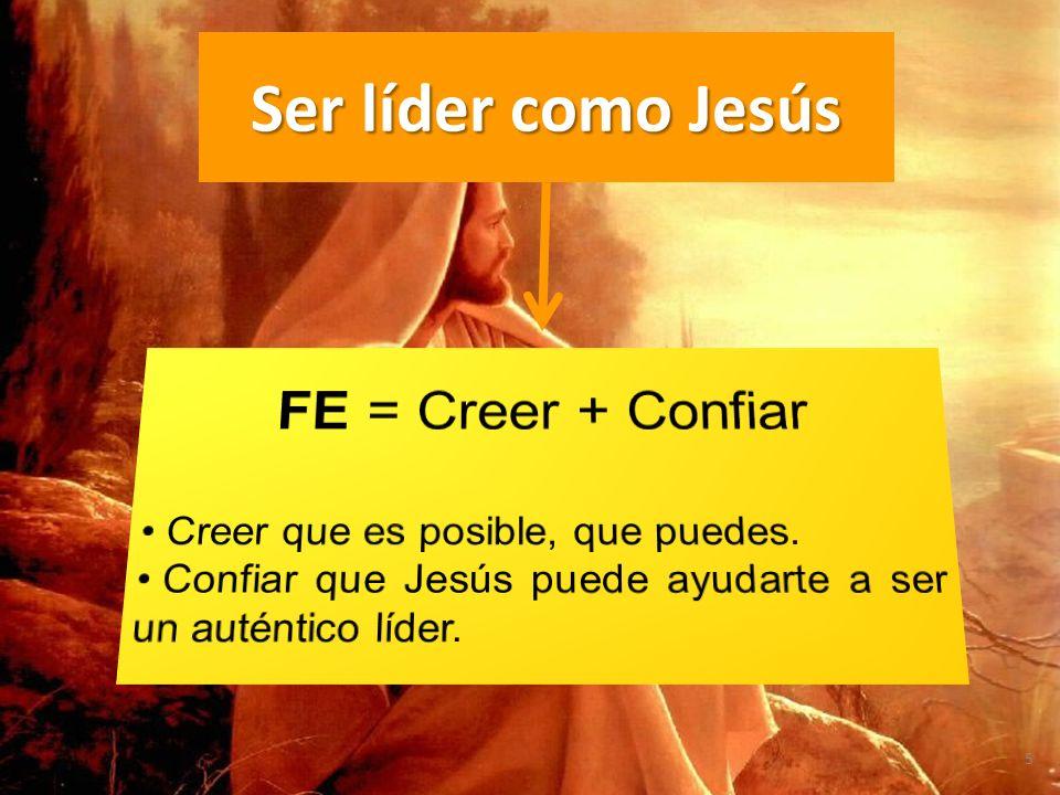 Ser líder como Jesús FE = Creer + Confiar