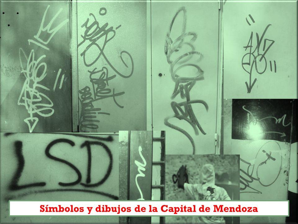 Símbolos y dibujos de la Capital de Mendoza