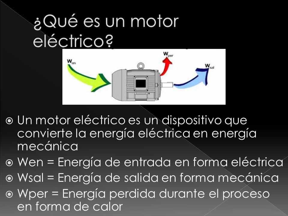 ¿Qué es un motor eléctrico