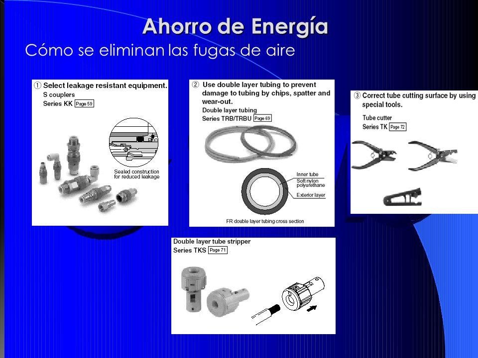 Ahorro de Energía Cómo se eliminan las fugas de aire