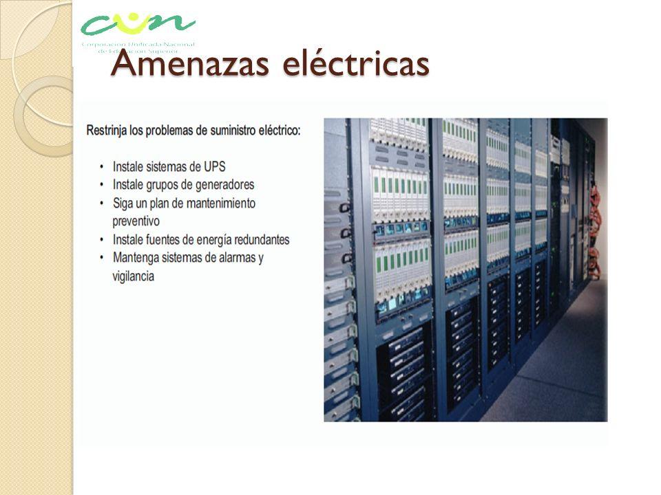 Amenazas eléctricas