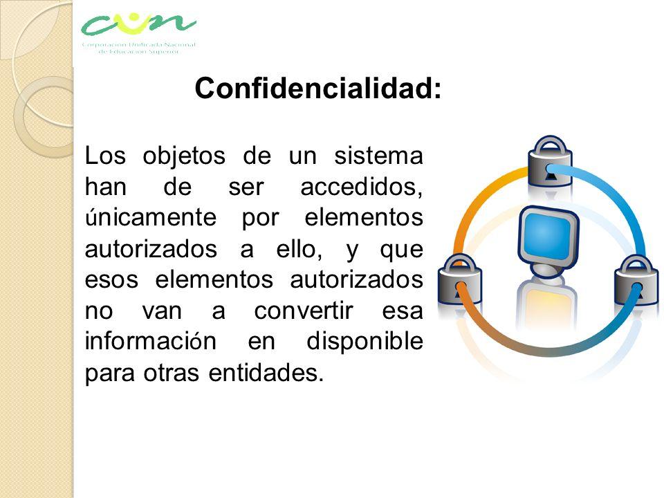 Confidencialidad: