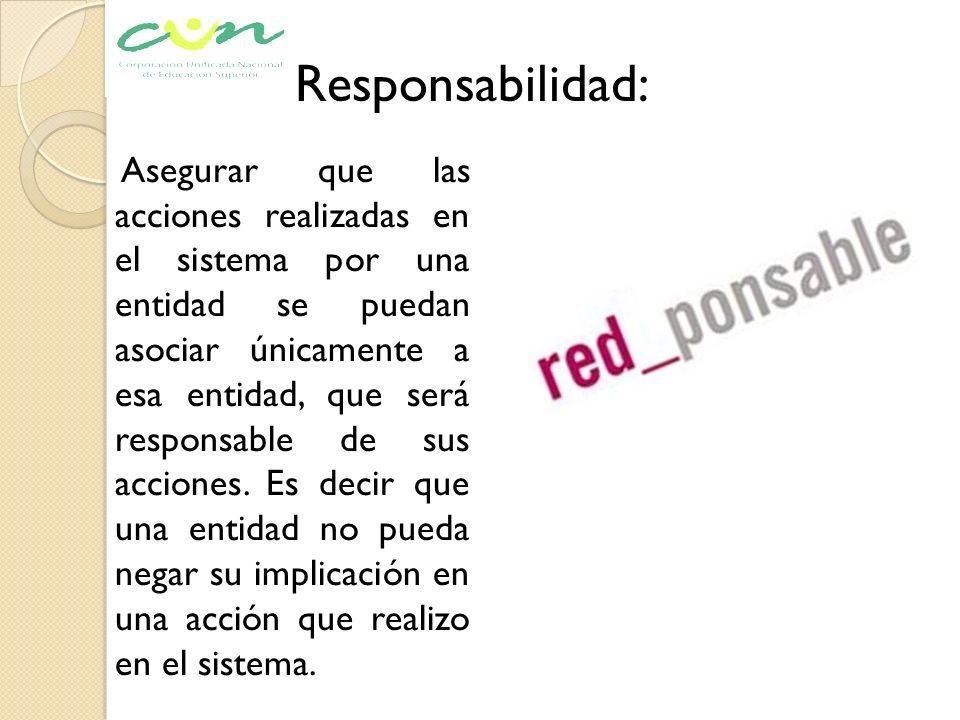 Responsabilidad: