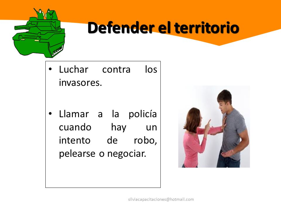 Defender el territorio
