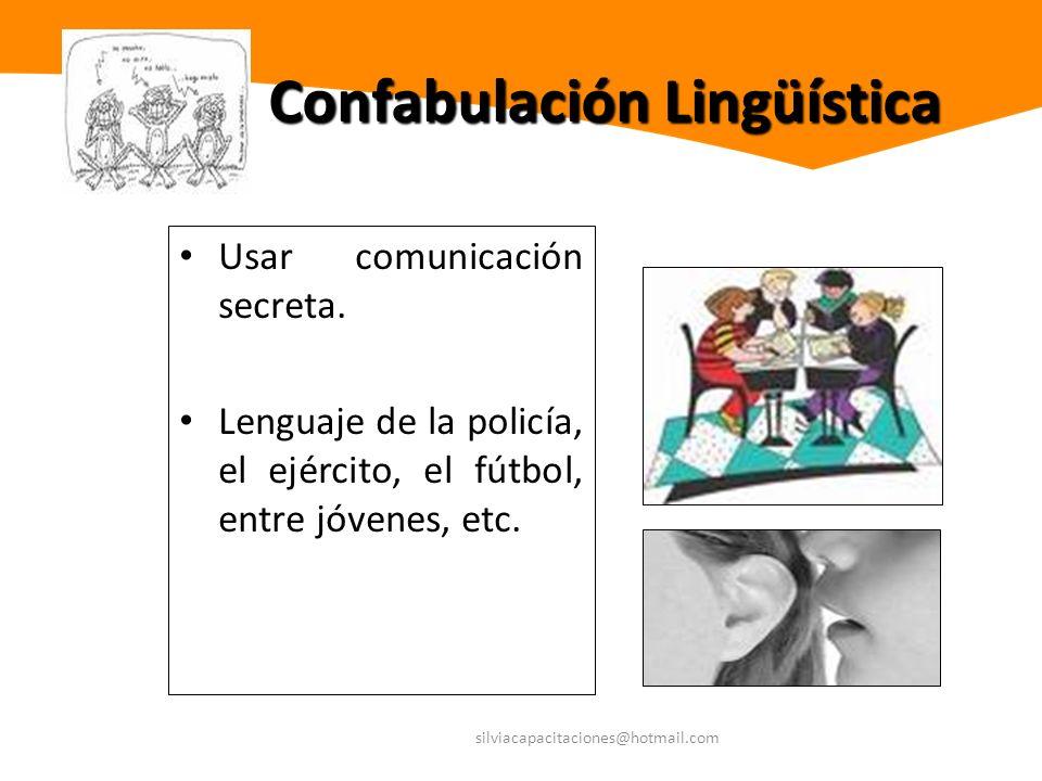 Confabulación Lingüística
