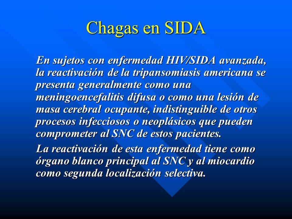 Chagas en SIDA