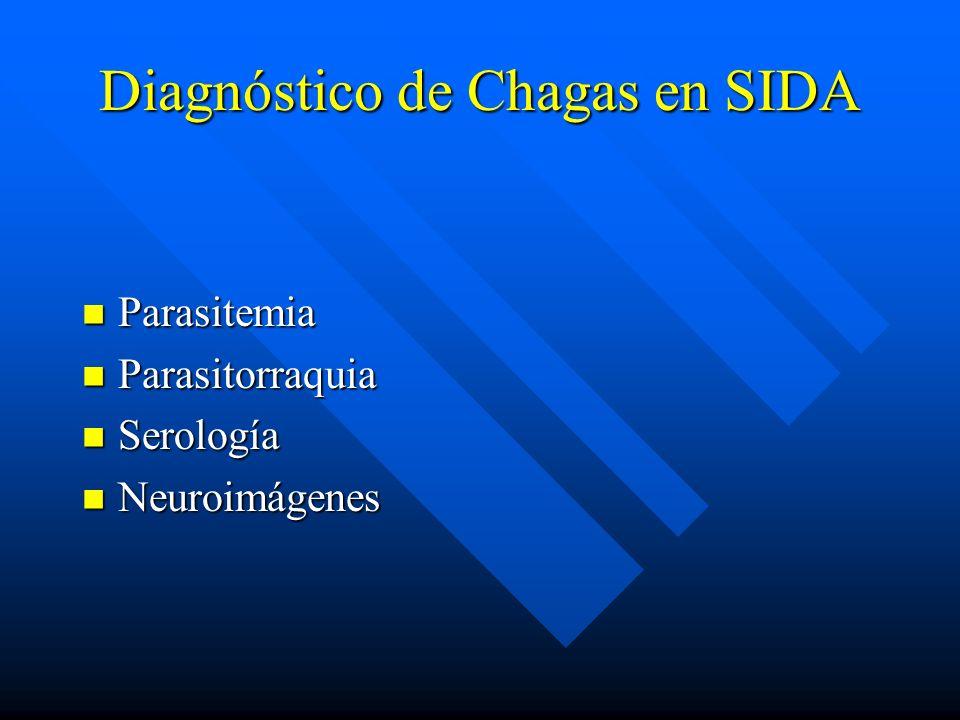 Diagnóstico de Chagas en SIDA