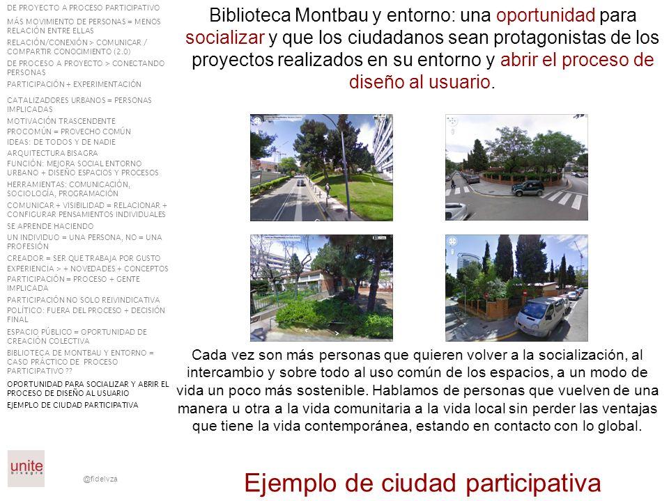 Ejemplo de ciudad participativa