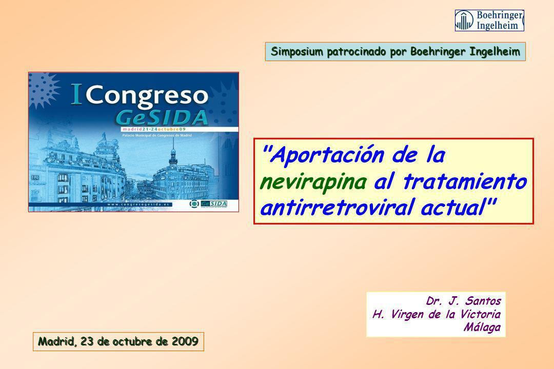 Aportación de la nevirapina al tratamiento antirretroviral actual