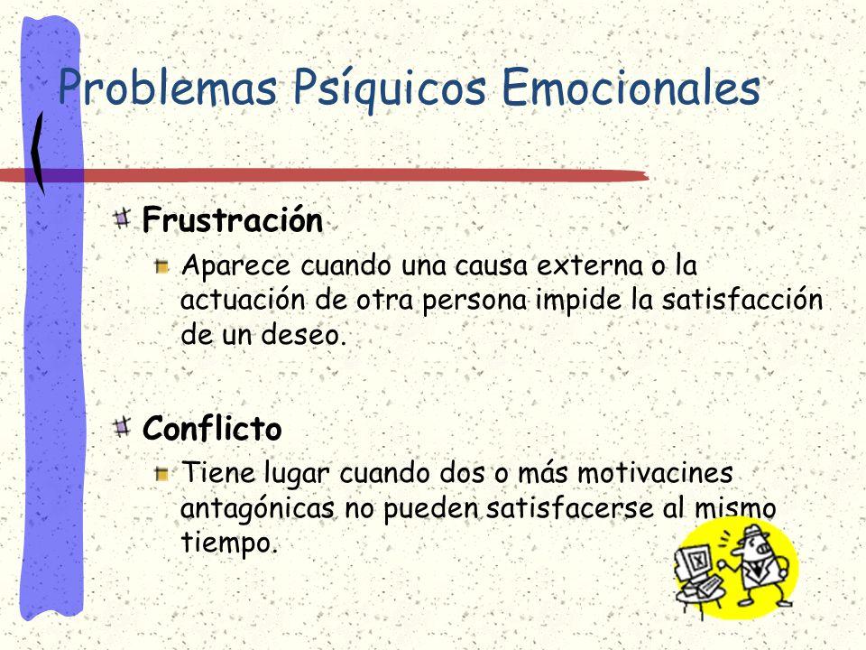 Problemas Psíquicos Emocionales
