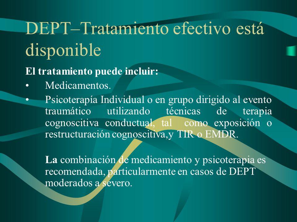 DEPT–Tratamiento efectivo está disponible