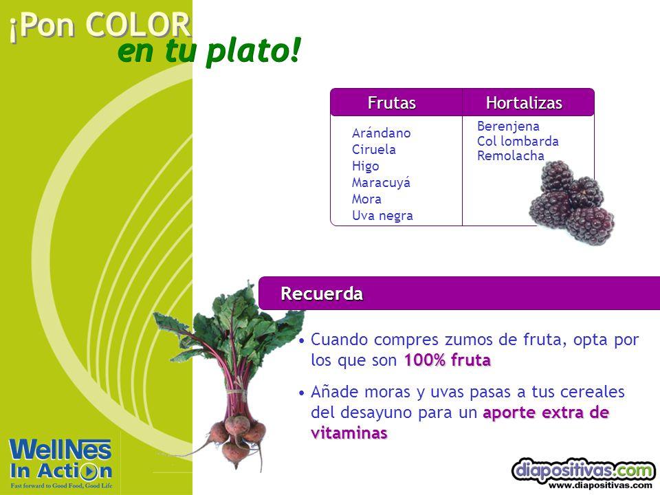Recuerda Frutas Hortalizas