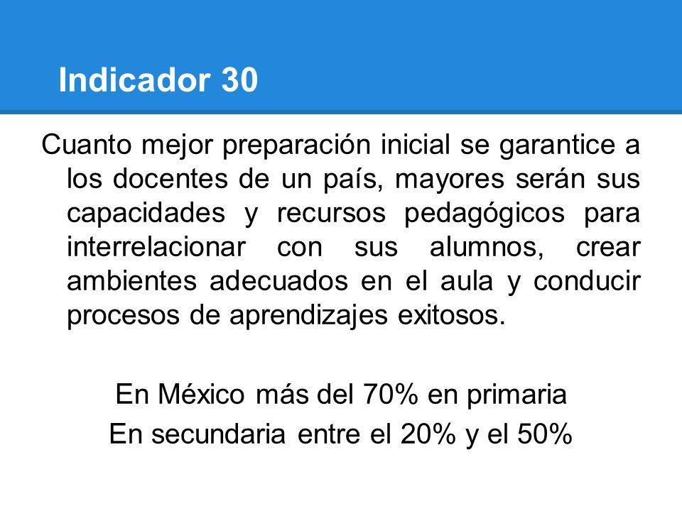 Indicador 30