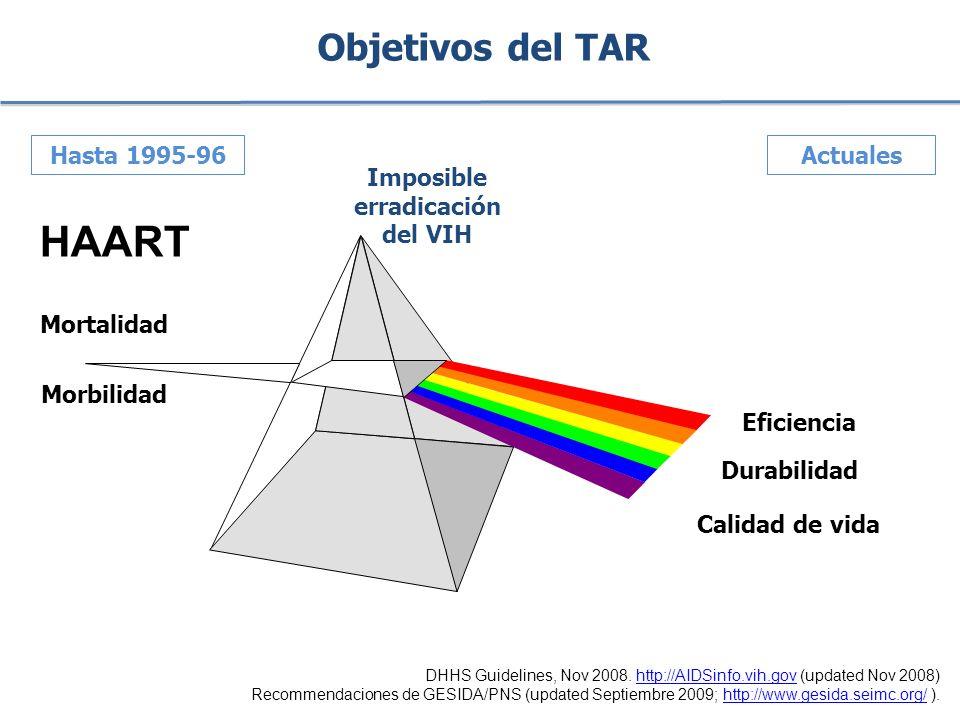 Imposible erradicación del VIH