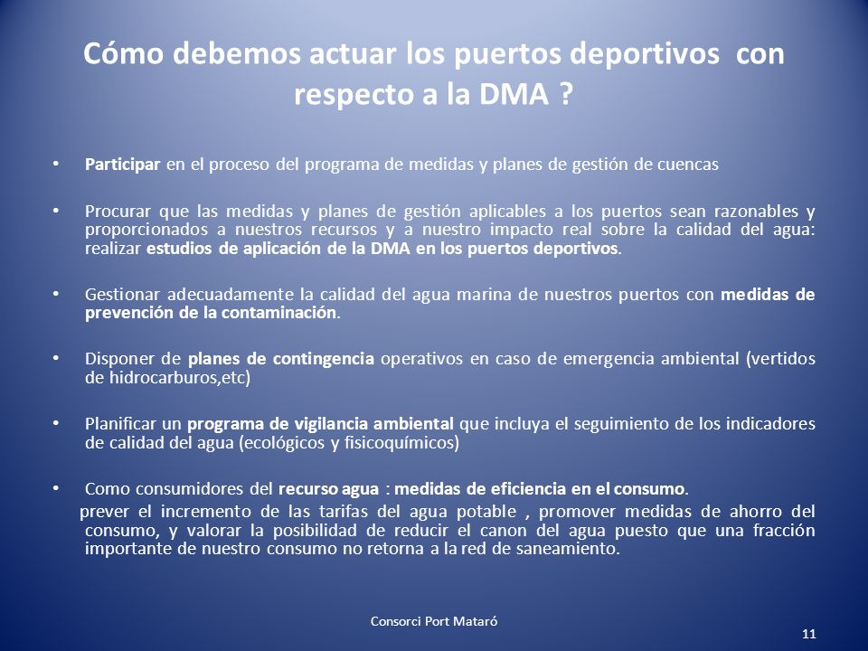 Cómo debemos actuar los puertos deportivos con respecto a la DMA