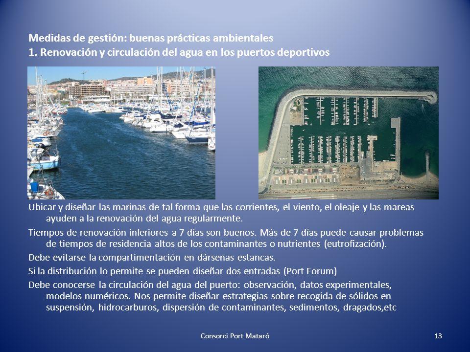 Medidas de gestión: buenas prácticas ambientales 1